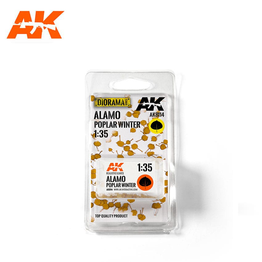 AK8114 Alamo Poplar Leaves Winter (AK Interactive)