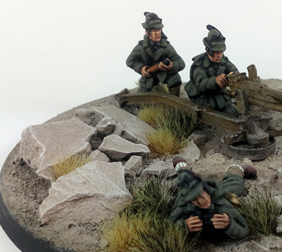 Alpini Anti-tank Gun Crew - Summer Uniform (Great Escape Games)