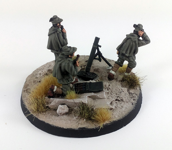 Alpini 81mm Mortar Team - Summer Uniform (Great Escape Games)