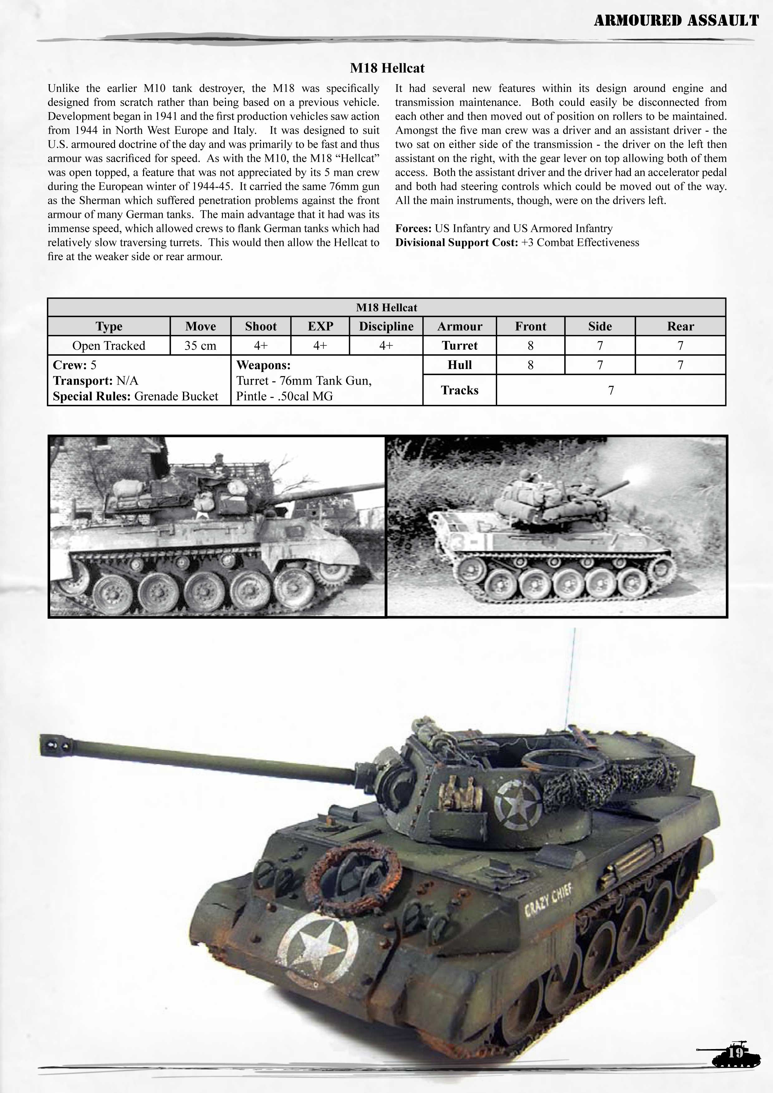 Armoured Assault sourcebook