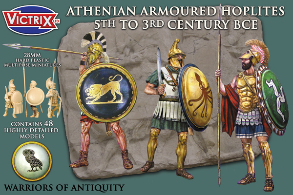 Athenian Armoured Hoplites 5th to 3rd century BCE (Victrix)
