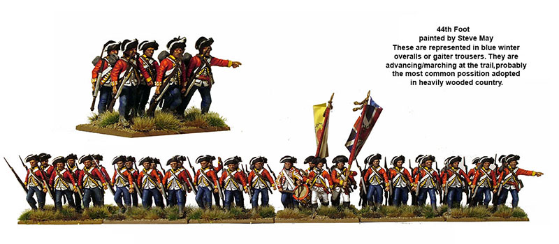 American War of Independence British Infantry 1775-1783 (Perry)