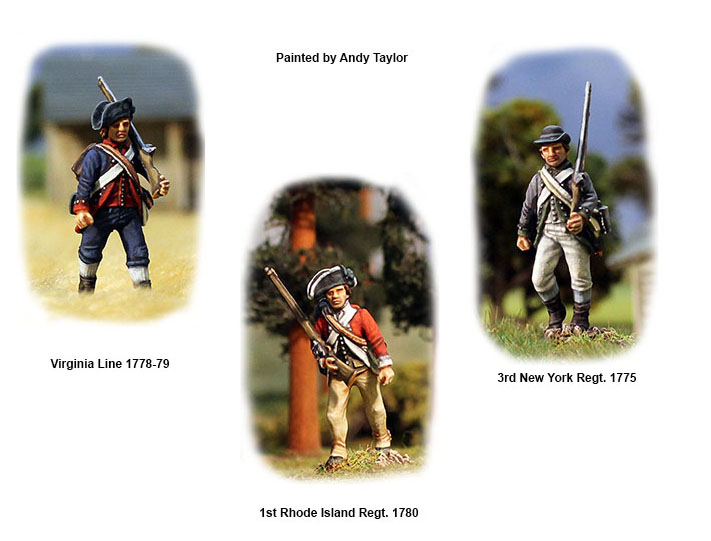 American War of Independence Continental Infantry 1775-1783 (Perry)