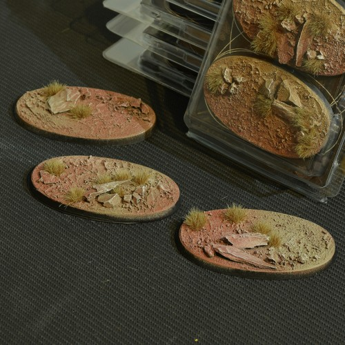 Badlands Bases Oval 75mm (Gamer's Grass)