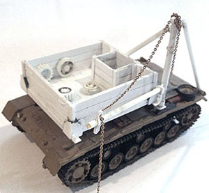 Bergepanzer III Conversion Kit (Company B)