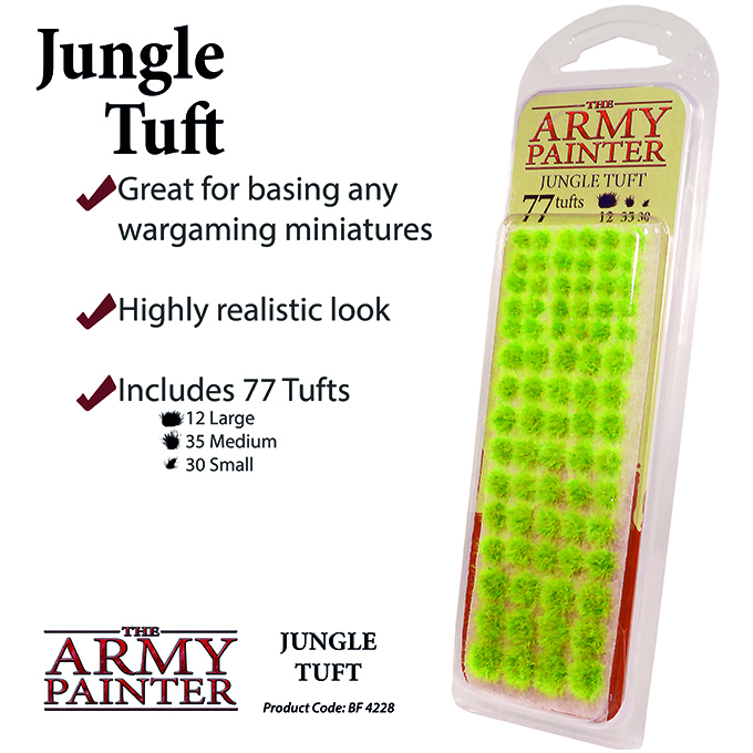 Basing: Jungle Tuft 2019 (Army Painter)