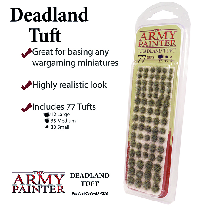 Basing: Deadland Tuft 2019 (Army Painter)