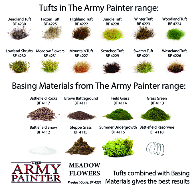 Basing: Meadow Flowers 2019 (Army Painter)