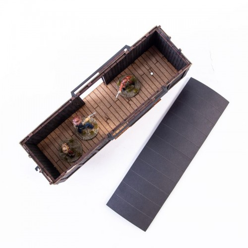 Dead Man's Hand 19th c. American Box Car (Black) 4Ground