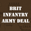 British or Canadian Infantry Army Deal