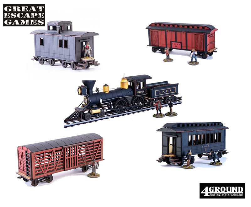 Dead Man's Hand - Build Your Own Train Set! (4Ground)