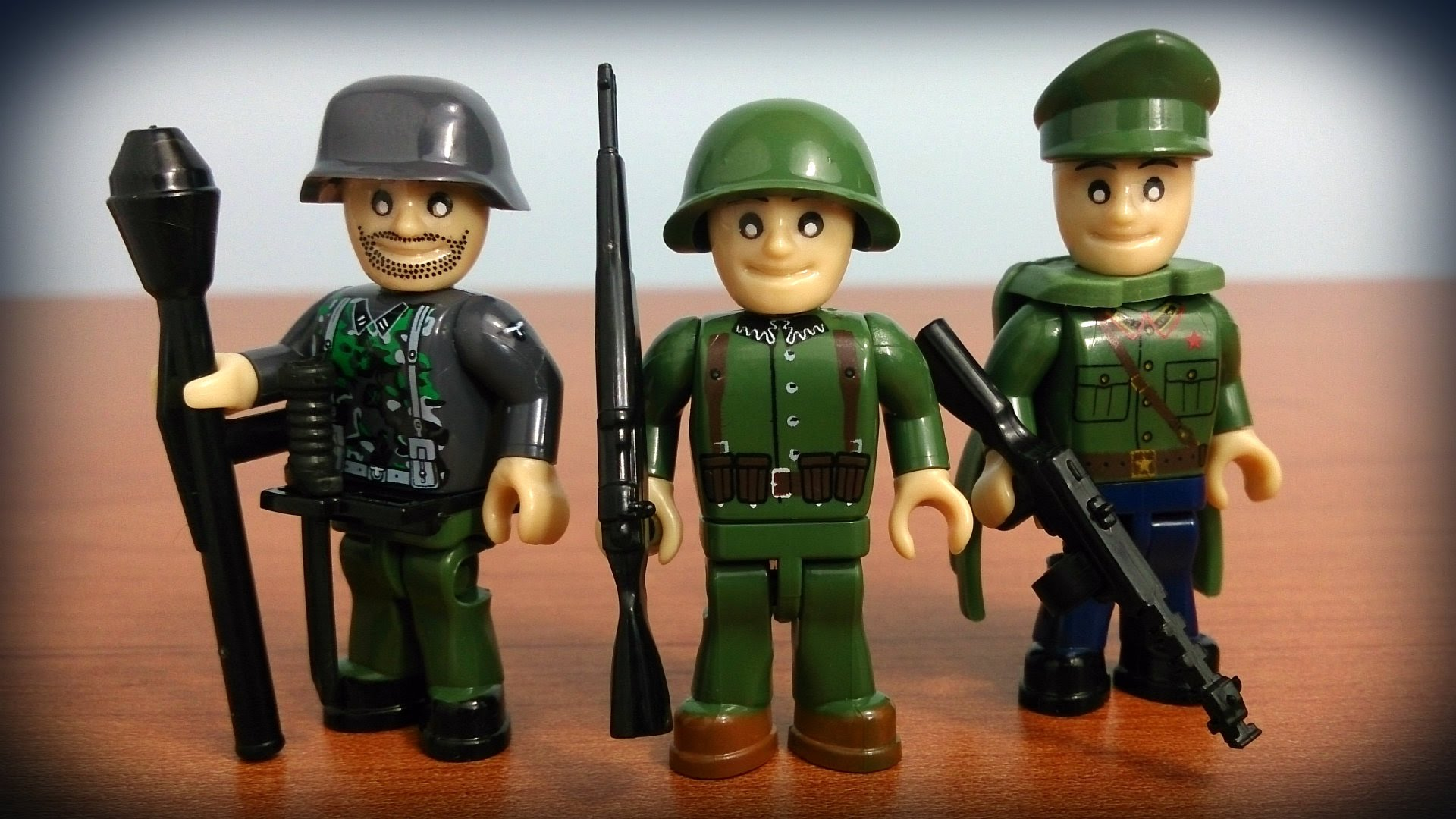 3 figures & accessories (2025) Cobi Small Army WWII