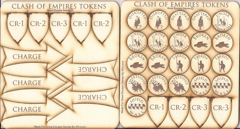 Clash of Empires Tokens
