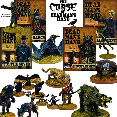 The Curse of Dead Man's Hand Miniature Collection