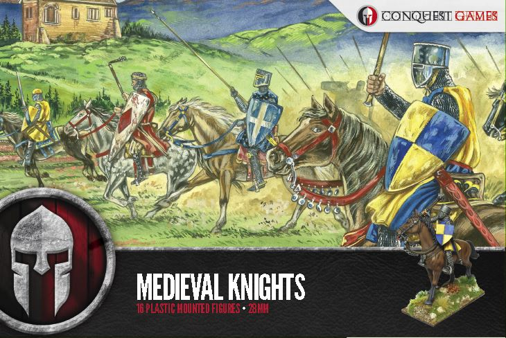 Medieval Knights Plastic Box Set (Conquest)
