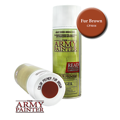The Army Painter: Fur Brown Colour Primer Spray (400ml)