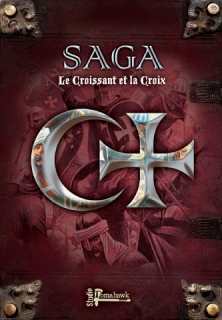 Saga: The Crescent & The Cross Rule Book (inc. 4 Battle Boards)