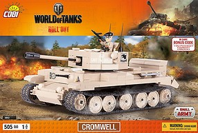 Cromwell World of Tanks (3002) Cobi Small Army WWII
