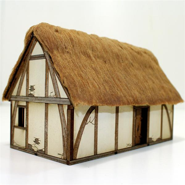 Pre-painted Late Saxon/Medieval Dwelling (4Ground)