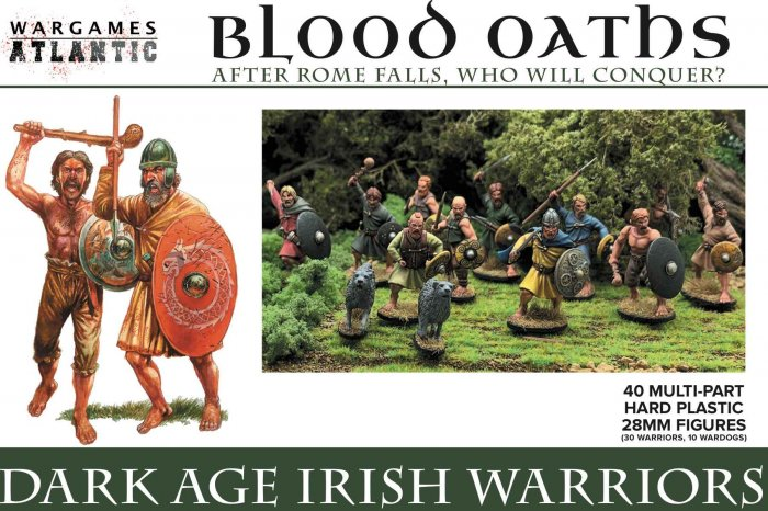 DARK AGE IRISH WARRIORS (Wargames Atlantic)