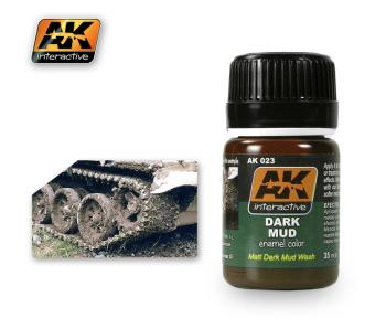 AK Interactive Wash - Dark Mud Effects