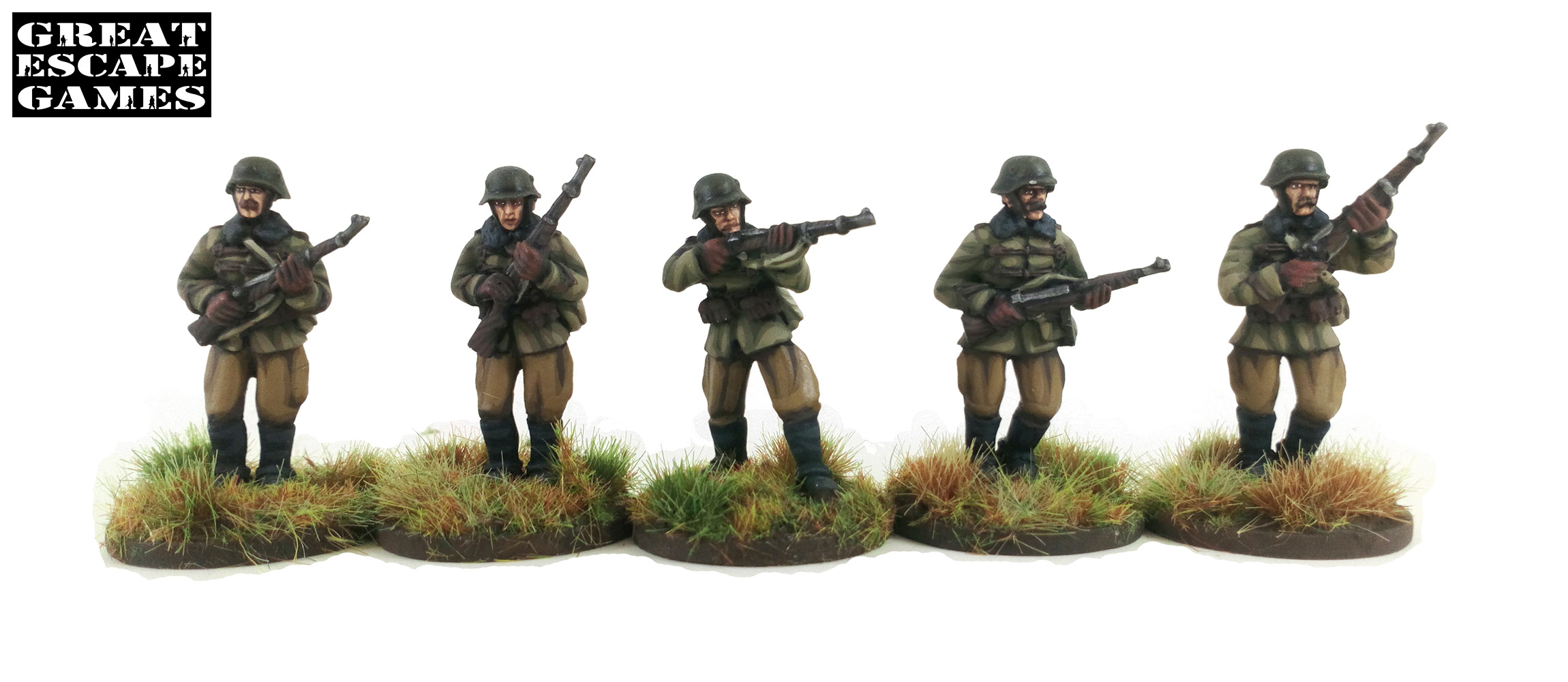 Pledge #2 Őrmester (Sergeant) - Hungarian Dismounted Huszár Troop (Great Escape Games) HUN208