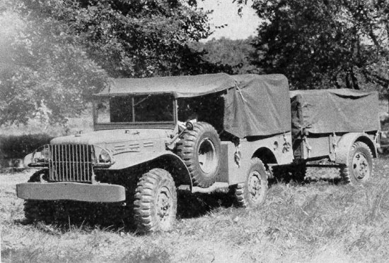 US-AFV Dodge WC-51/52 3/4 ton (Company B)
