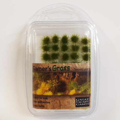 Dry Green Tufts (Gamer's Grass) Clamshell Pack