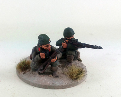 Greek Mountain Infantry/Evzones Sniper Team (Great Escape Games)
