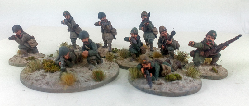 Greek Mountain Infantry/Evzones Supported Platoon (Great Escape Games) GRK002, 003, 004, 005, 007, 010