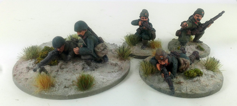 Greek Mountain Infantry/Evzones Squad A (Great Escape Games)