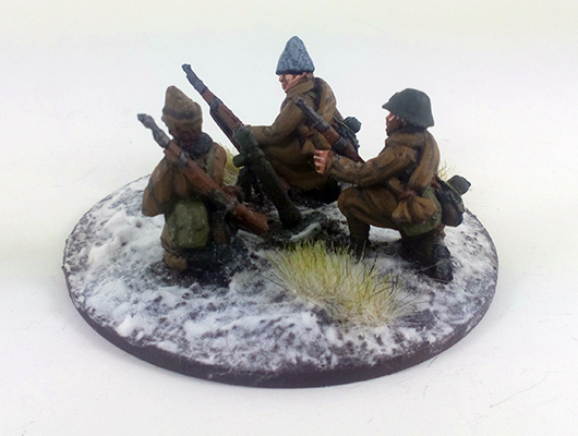 Romanian Mortar - Winter Uniform (Great Escape Games)
