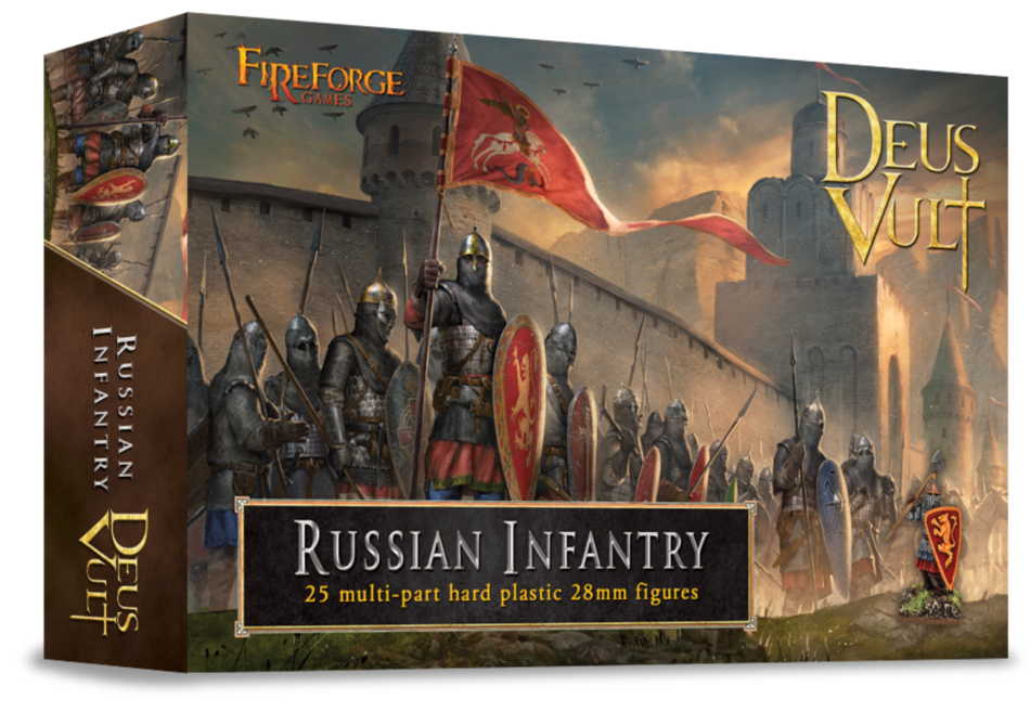 Russian Infantry Plastic Box Set (Fireforge)