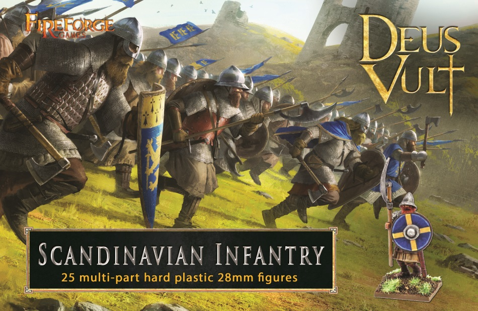 Scandinavian Infantry Plastic Box Set (Fireforge)