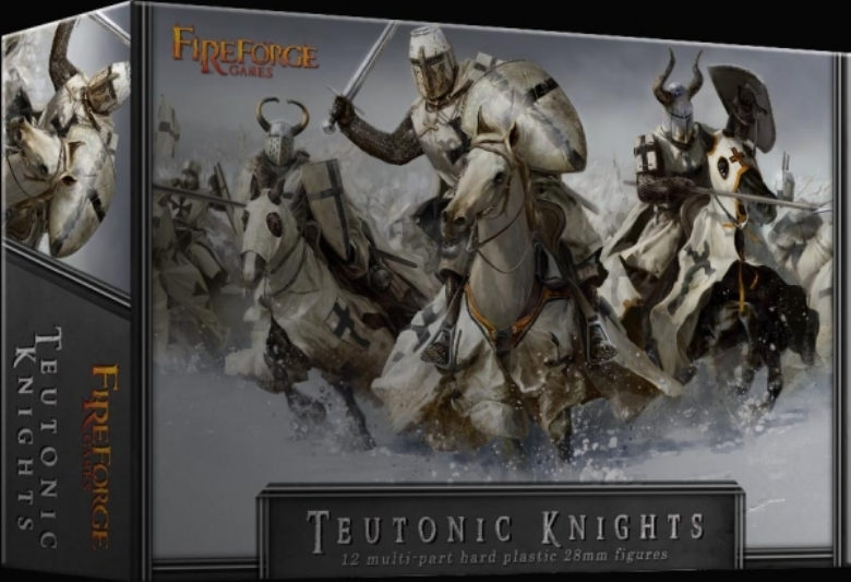 Teutonic Knights Plastic Box Set (Fireforge)