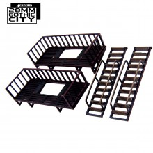 Pre-painted Fire Escape Extra Floors x2 (4Ground)