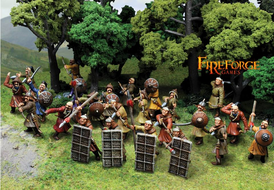 Mongol Steppe Infantry Plastic Box Set (Fireforge)