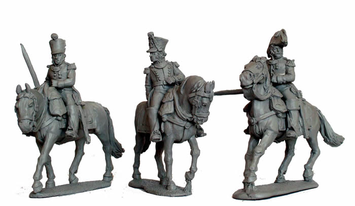 Mounted Infantry Colonels (Perry Metal) FN4