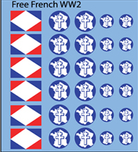 Free French Decals (Company B)