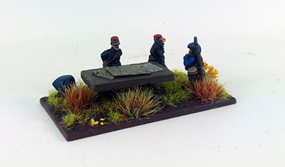 1914 French Brigade Command (Great Escape Games) 12mm Scale