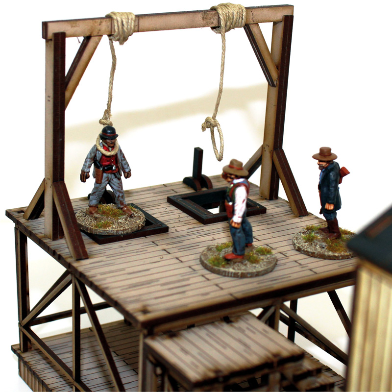 Dead Man's Hand Pre-painted Gallows