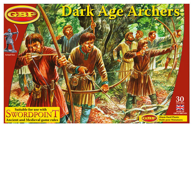 Dark Age Archers Plastic Box Set (Gripping Beast)