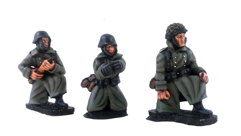 German Stalingrad Veterans PaK38 Anti-tank Gun & Crew - Winter Uniform (Great Escape Games)