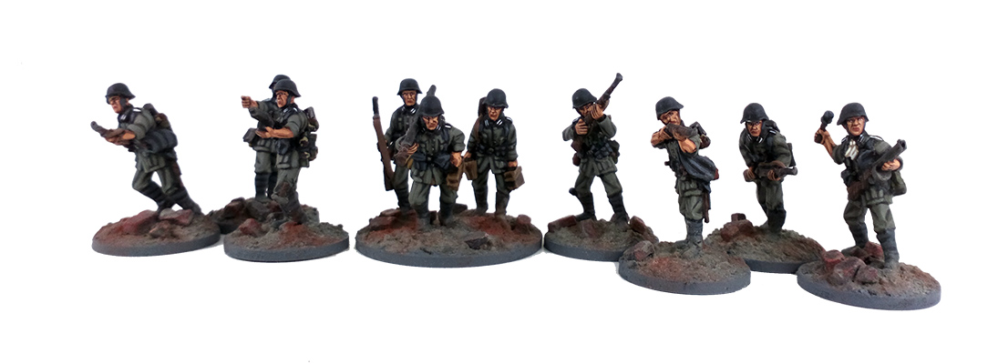 German Chain of Command Army - Summer Uniform (Great Escape Games)