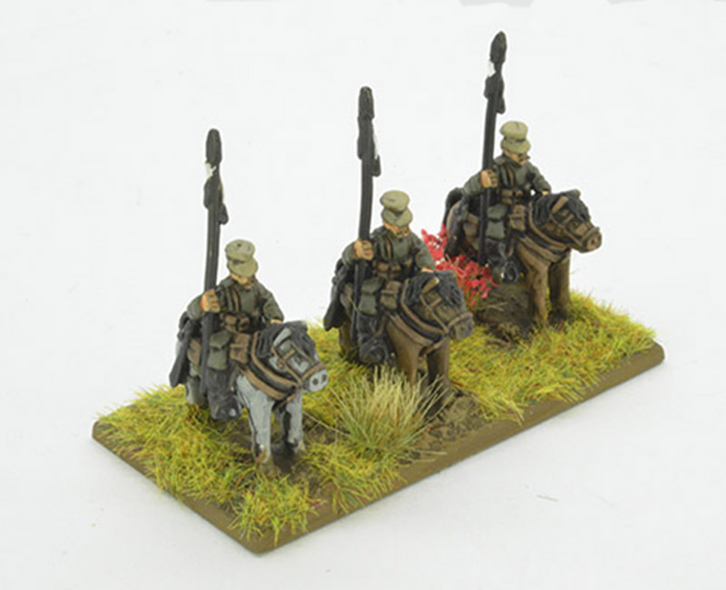 1914 German Cavalry Lancers Regiment (Great Escape Games) 12mm Scale