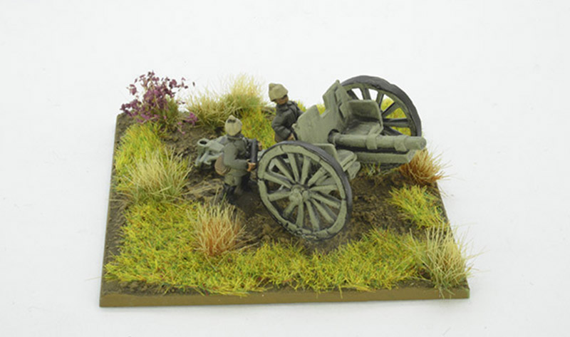 1914 German Gun Battery (Great Escape Games) 12mm Scale