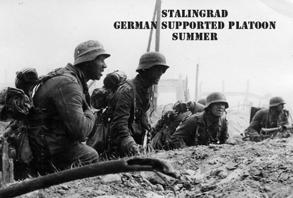 German Supported Platoon - Summer Uniform (Great Escape Games) GER002,003,004,005,006,007