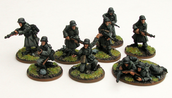 German Grenadier Platoon