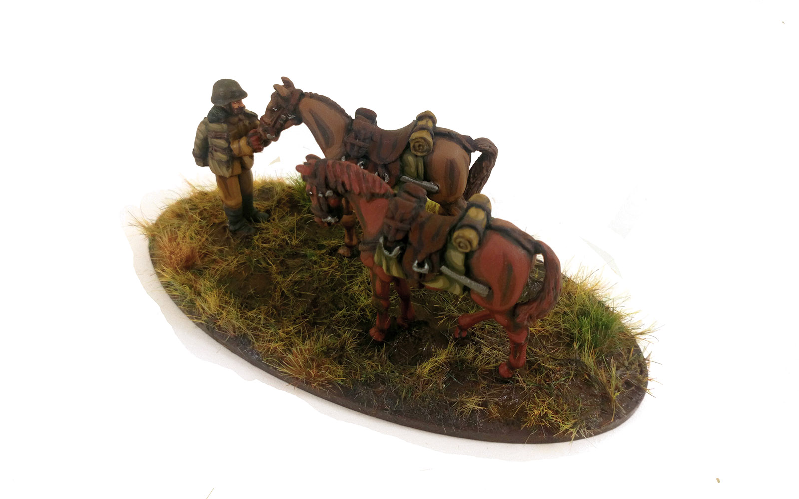Hungarian Huszár Horse Holder (Great Escape Games) HUN212