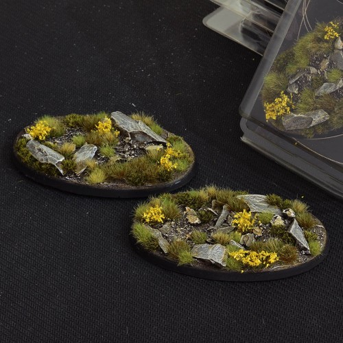 Highland Bases Oval 90mm (Gamer's Grass) Pack of 2